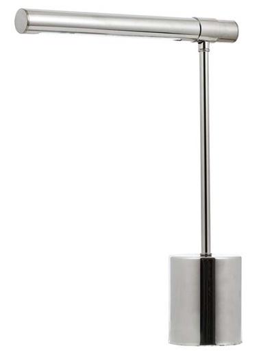 Avonni Avonni Ml-62020-04 Metal Ahşap 38X10 Cm Krom Kaplama Led Masa Lambası Renkli